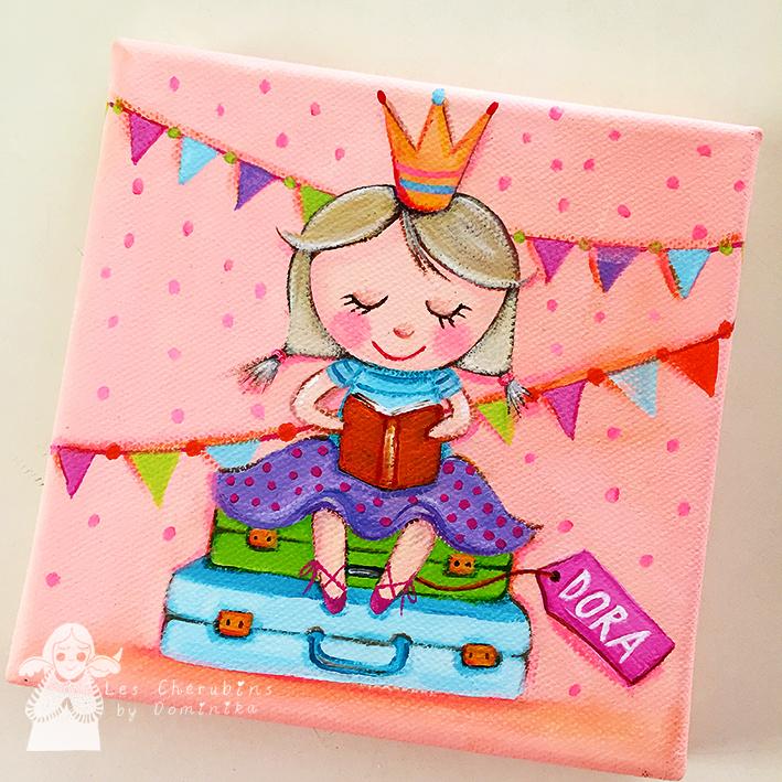 Princess Dora - door sign