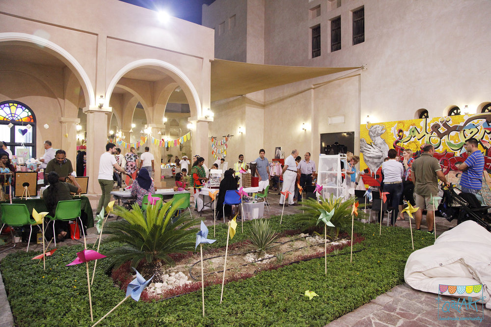 Katara QatART Handmade Market on 24th October 2014