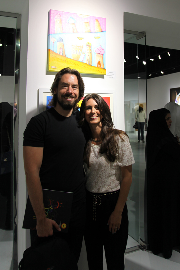 group exhibition with Qatar Fine Arts Society