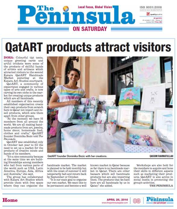 The Peninsula Qatar,April 26, 2014
