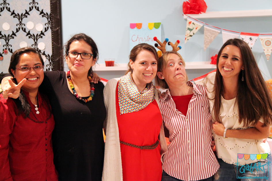QatART party 2013 QatART board team