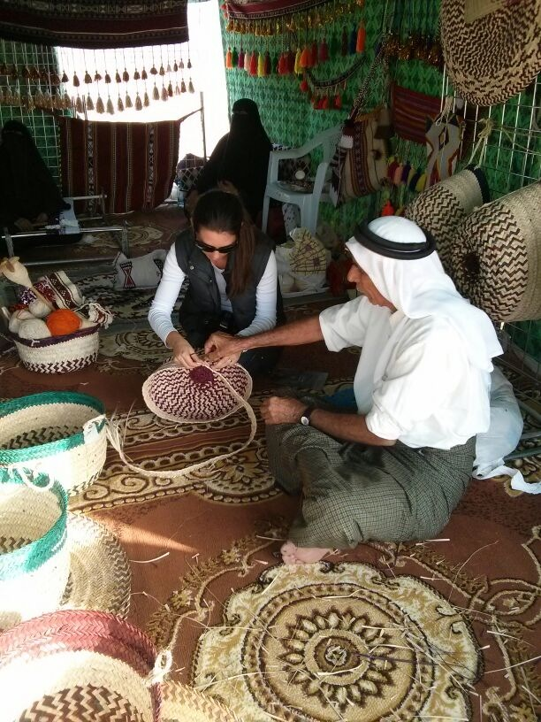 learning how to make a basket