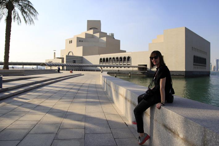 Museum of Islamic Art and Park visit + lunch + karak tea