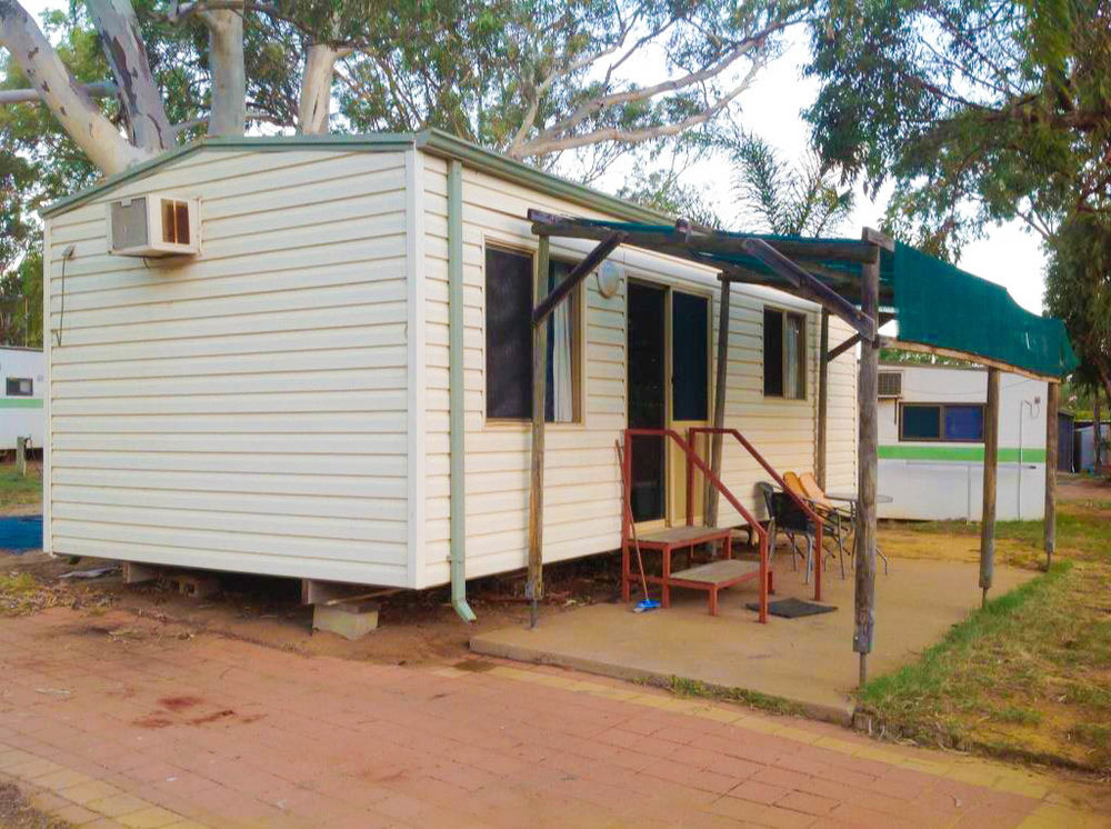 Cabins sleep up to 6 people 1 double bed and 4 single bunks and have fully equipped kitchen. Cabin does not have an ensuite or bed linen. (Linen can be hired)