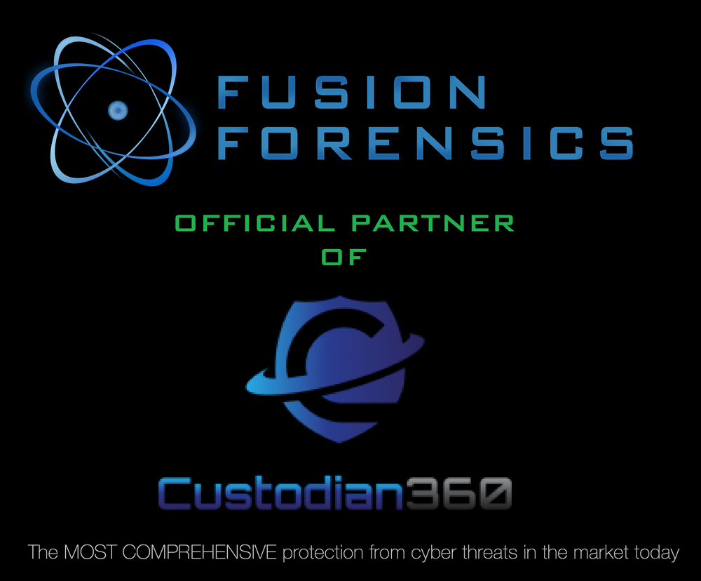 In 2017 Ransomware hit the headlines through global threats from 'WannaCry' and 'Jigsaw'. Imagine being able to instantly rollback your PC as it was before the threat? Now you can… Fusion Forensics is excited to announce we have become an Official Partner of Custodian360 which offers a managed endpoint security service. Think of it like your cyber bodyguard; ready to stop threats in their tracks. Your network is monitored for threats in real time, backed up by a dedicated team of security analysts providing the first line of defence for your company. Fusion is proud to be associated with the most comprehensive protection from cyber threats in the market today. Businesses now no longer need to stock up on Bitcoin or take out insurance to cover losses. Contact Fusion today about how this managed security solution can help your business: (01635) 866 678 or email info@fusionforensics.com