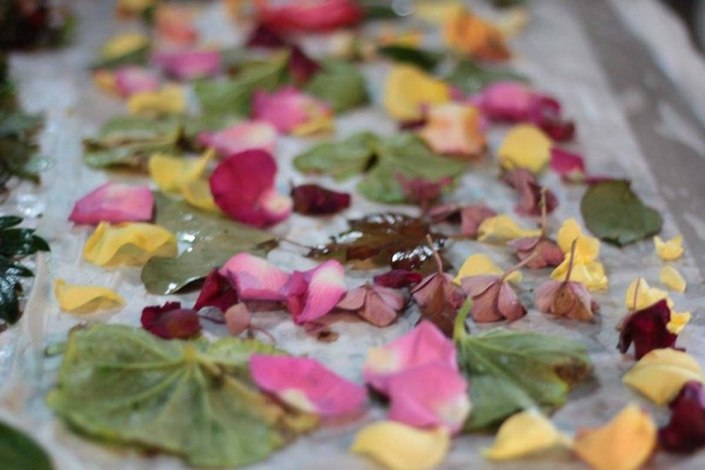 Scattering Petals and Leaves