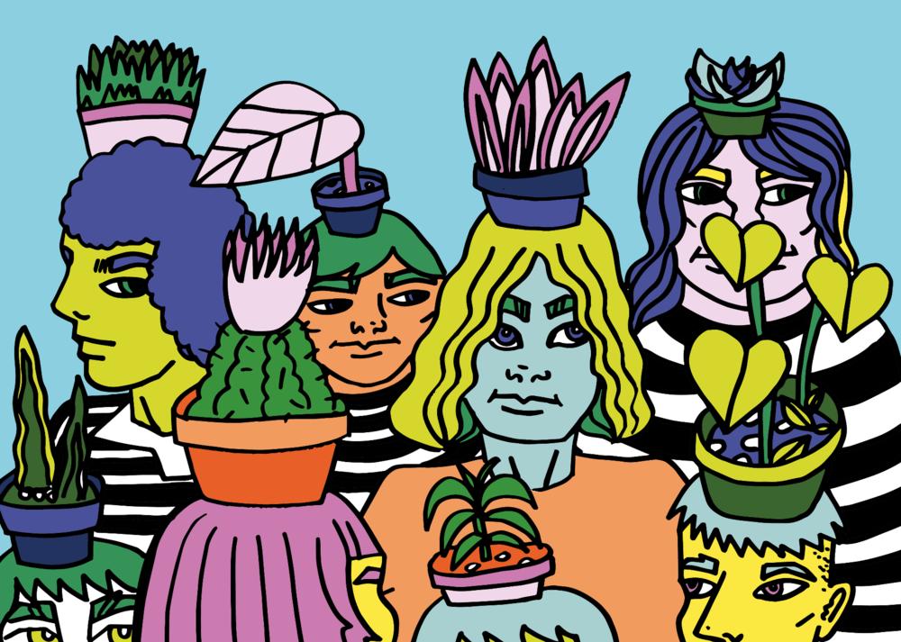 Plantpot Women