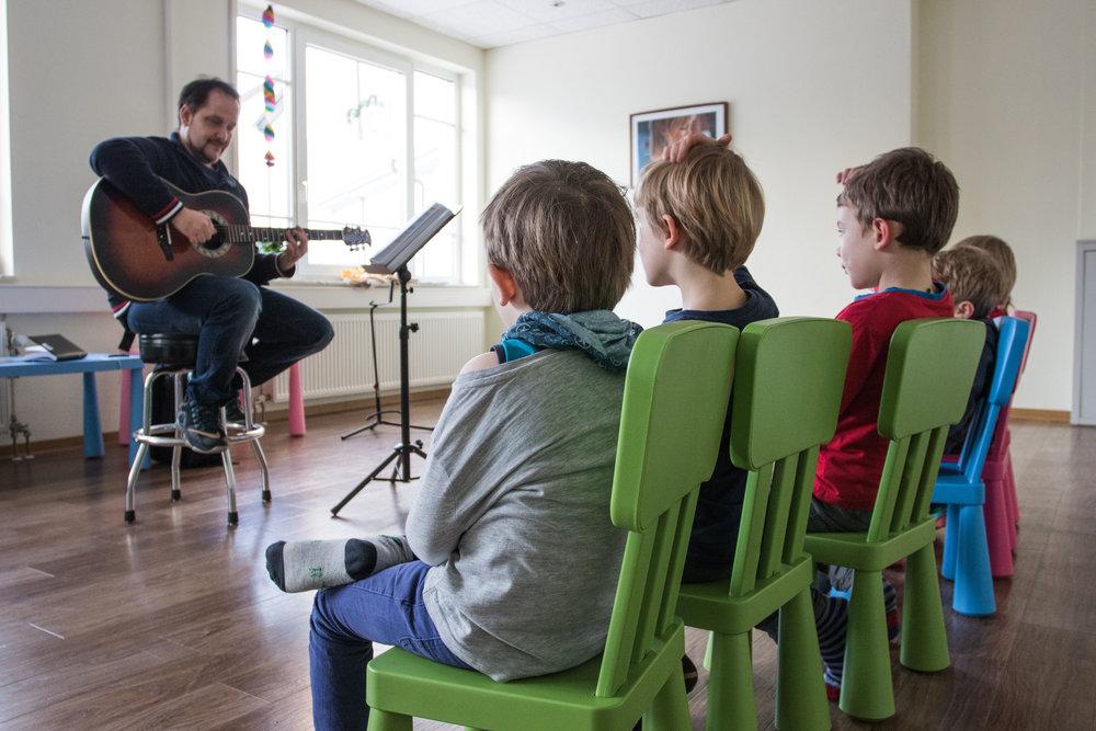 Kids & Musikgarten in der Bonner Musikschule
