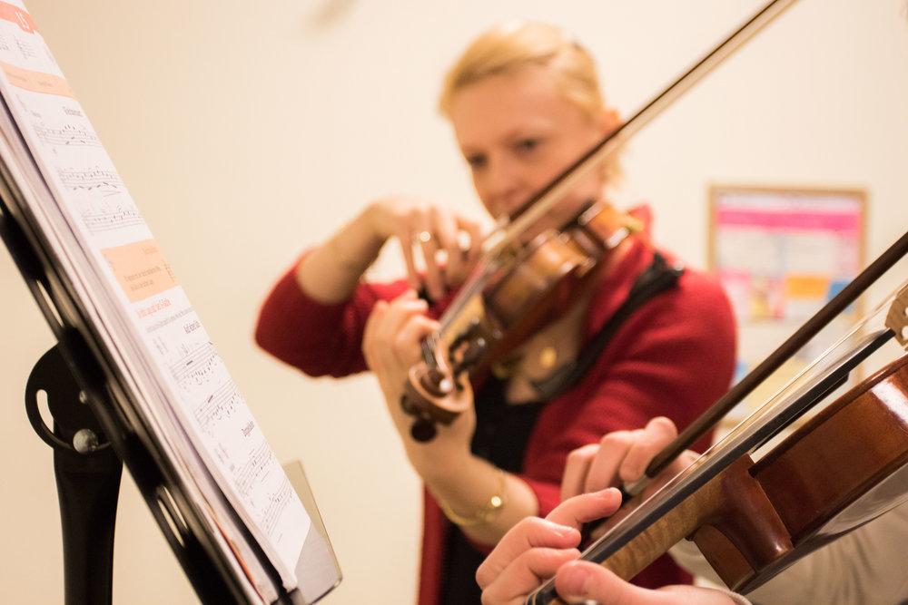 Geige lernen in der Bonner Musikschule