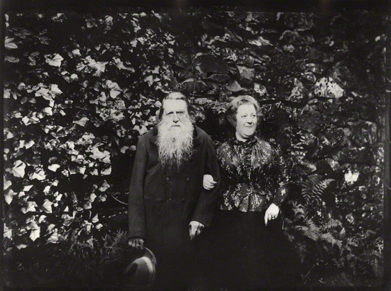 John Ruskin and Joan Severn © National Portrait Gallery, London