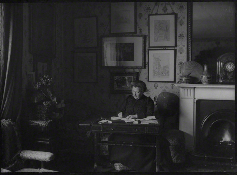 Joan Severn (née Agnew) by John McClelland © National Portrait Gallery, London