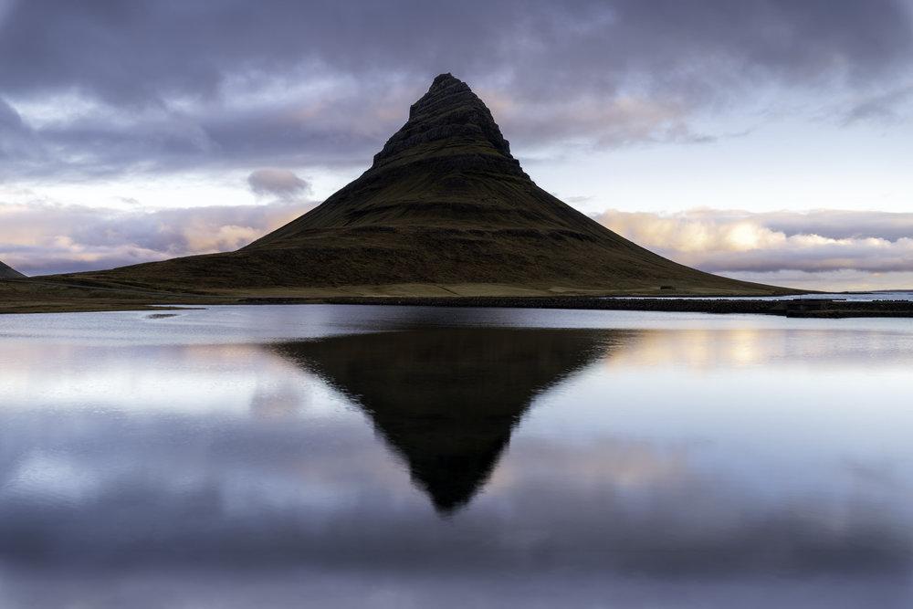 Kirkjufellsfoss Reflection
