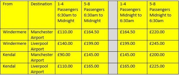 Website Airport Price List.JPG