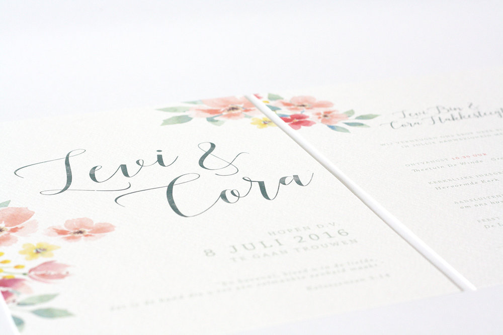 trouwkaart-bloemen-aquarel