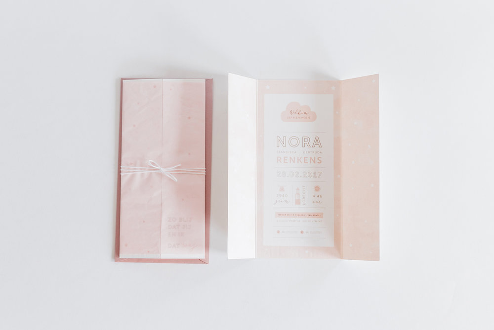 geboortekaartje-watercolour-aquarel-effect-roze-peach-drieluik-kaart-pakketje.jpg