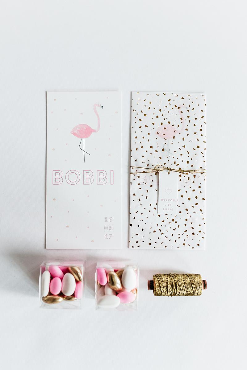 geboortekaartje-geboorte-stationery-goud-roze-flamingo.jpg