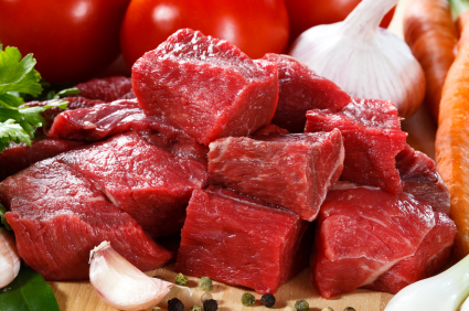 Bison Stewing Meat   480-520g pkgs