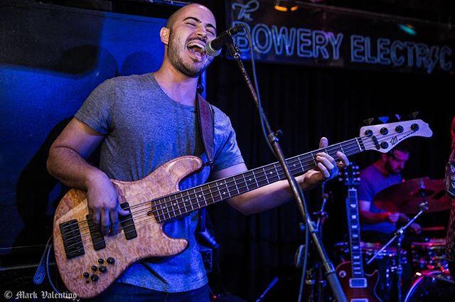 Dan Dan gettin' Dizzown. Photo by @markvalentino #Meadowhawks #TheBoweryElectric