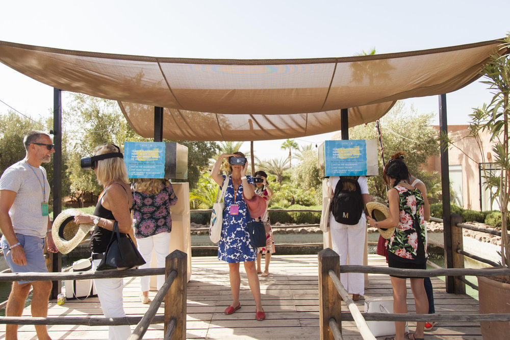 Virtual reality event activation