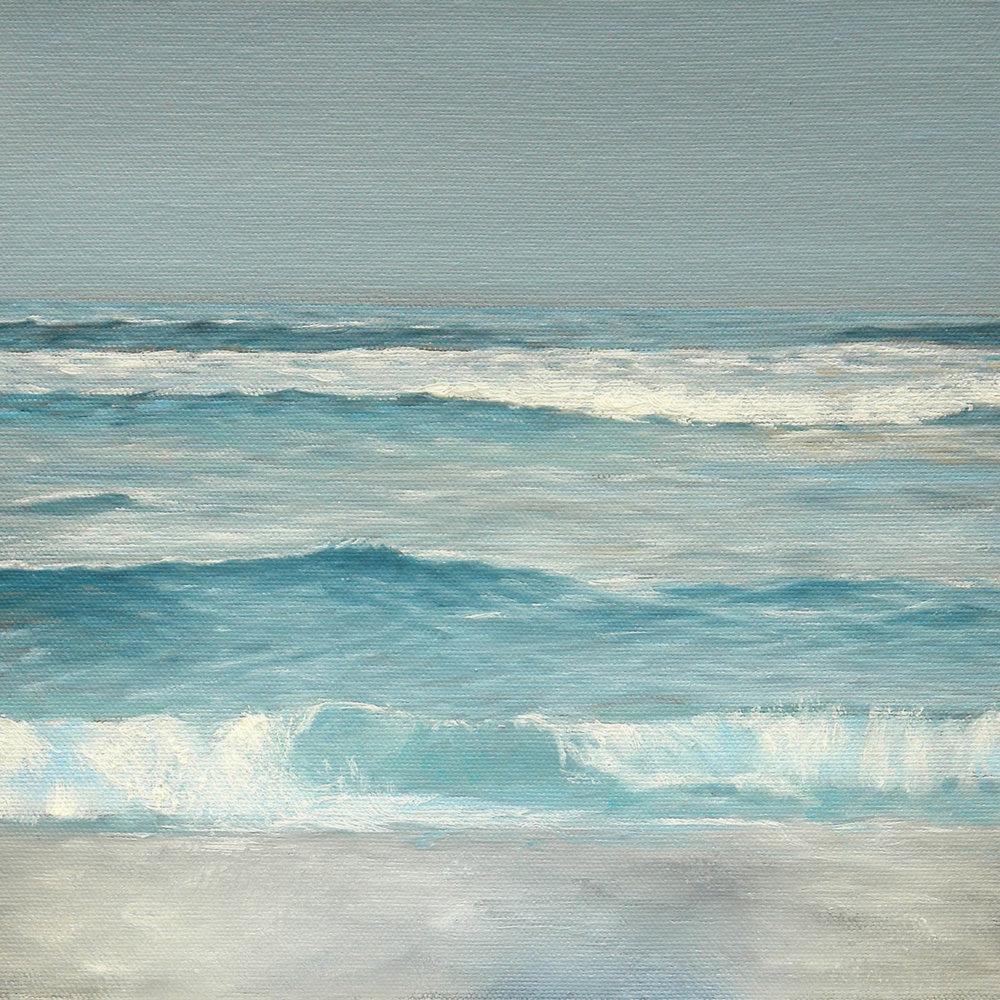 Salt | 10 x 10 | Oil on canvas