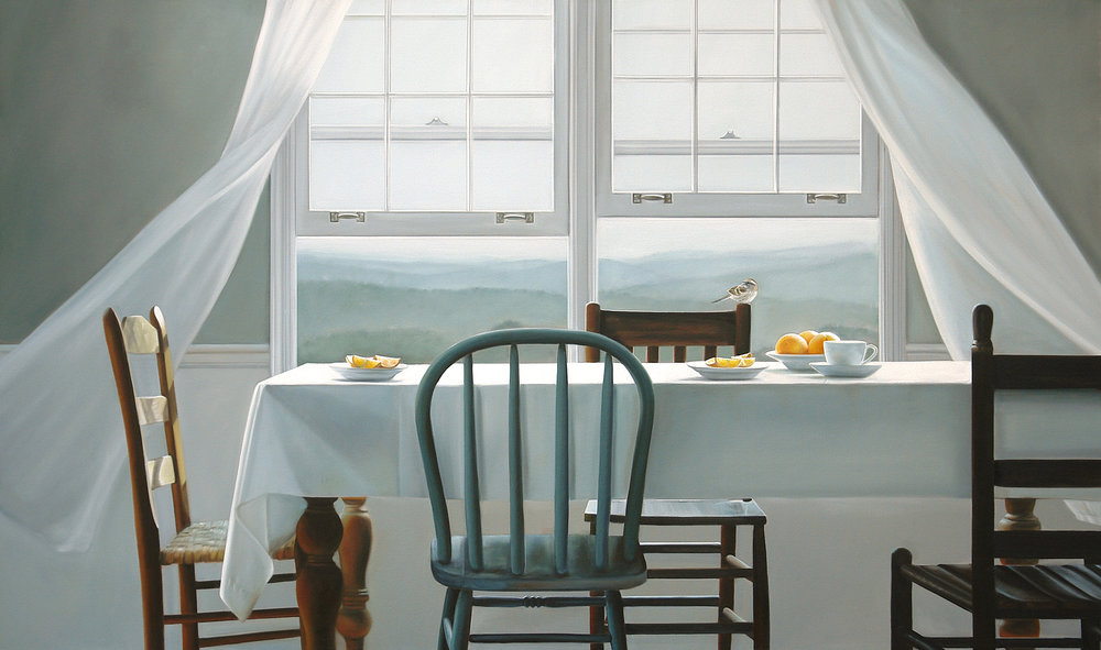 Annie's Place  |  36 x 60  |  Oil on canvas