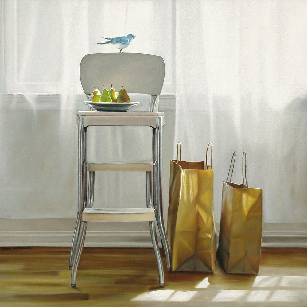 Anytime  |  36 x 36  |  Oil on canvas