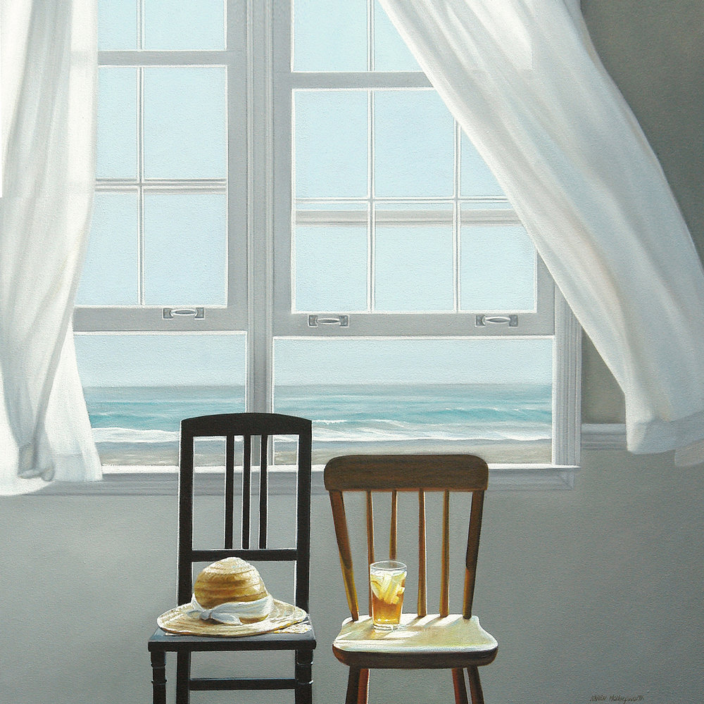 Beach Break  |  30 x 30  |  Oil on canvas