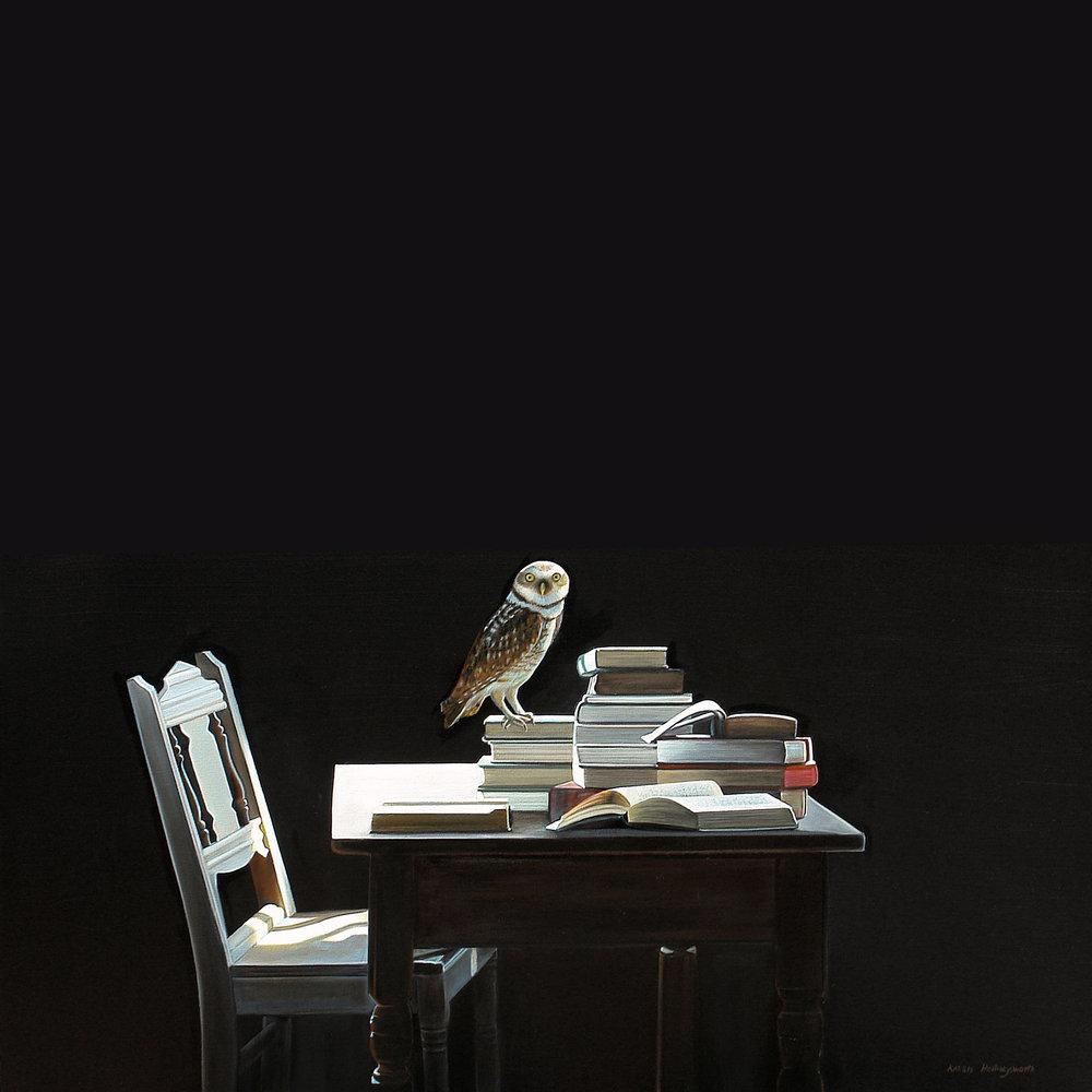 Wisdom | 36 x 36 | Oil on canvas