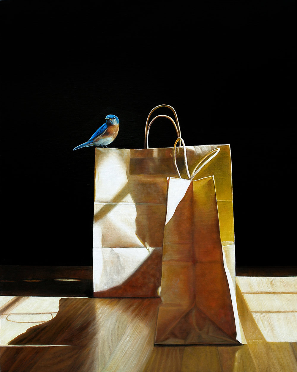 Perch No. 2  |  24 x 30  |  Oil on canvas