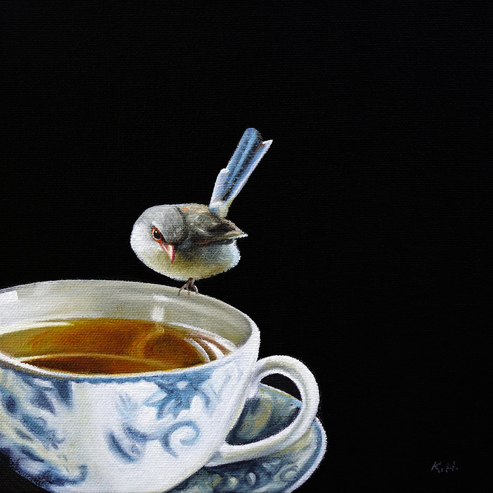 Teacup No. 1  |  8 x 8  |  Oil on canvas