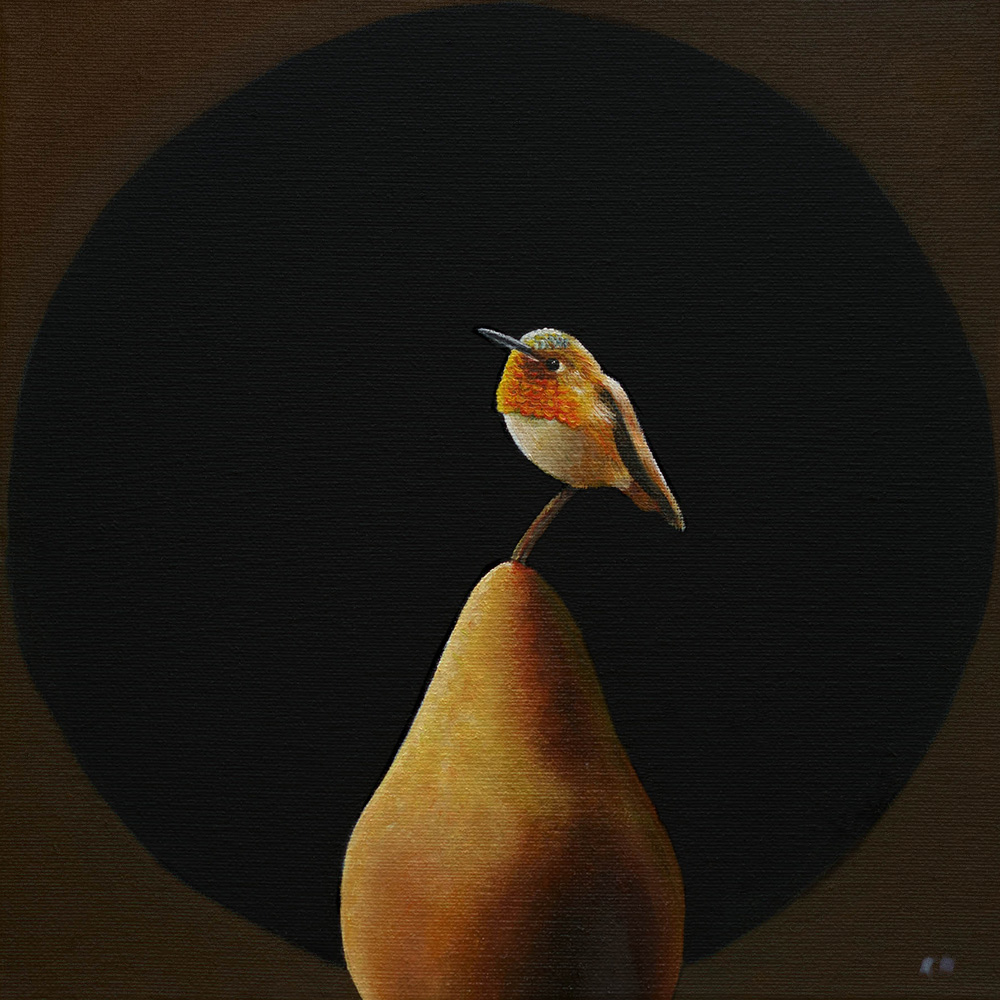 Bosc | 10 x 10 | Oil on canvas