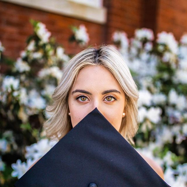 Where did all the time go... • • • • #lightroom #grad #graduation #2018 #auburn #design