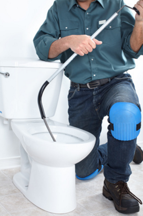 CLOGGED TOILETS — A+ Plumbing Services