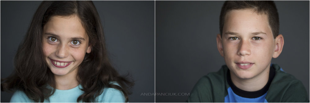 Kids' Headshots | Montreal Photographer Anda Panciuk