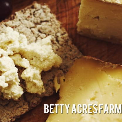 Betty Acres Farm  - At Betty Acres Farm, our Modern Milkmaid Cheeses are handcrafted fresh in our on-farm micro creamery from the milk of our own Guernsey and Jersey cows, then aged in our hillside cave, and brought to you at precisely the right time for ultimate enjoyment!