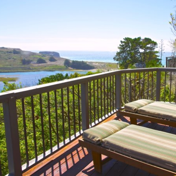 Hummingbird Cottage  - Is a popular AgroBnB, a perfect retreat for couples or a small family getaway. Enjoy the sweeping river estuary to ocean views from up on the deck during the day, and stargaze at night.