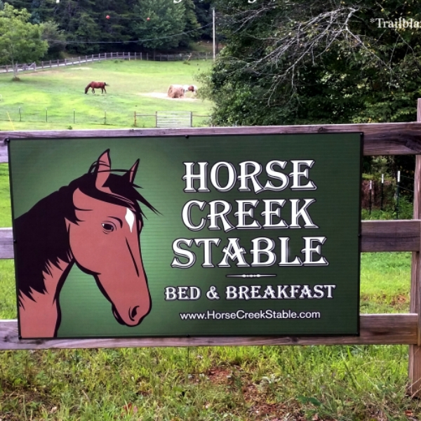 Horse Creek Stable B&B  - Blue Ridge B&B rescue animal sanctuary nestled on 36 secluded acres.  This is the perfect single getaway or couples retreat, just a few minutes away from Blue Ridge, GA.