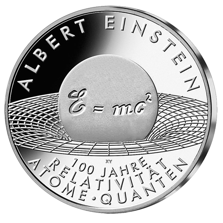 10€ . Albert Einstein 2005