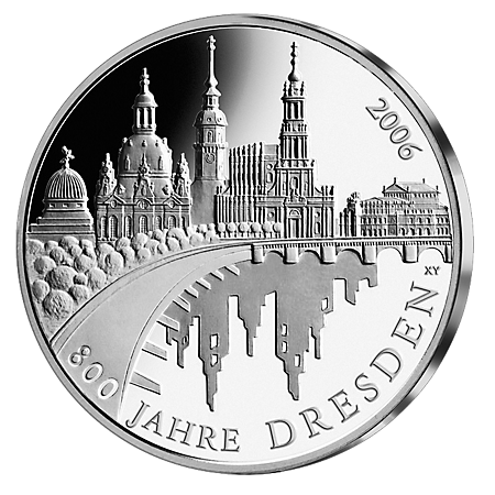 10€ . Dresden 2006