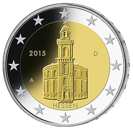 2€ . Paulskirche 2015