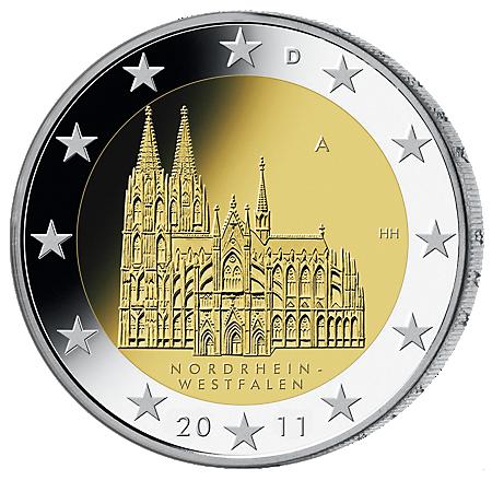 2€ . Kölner Dom 2011