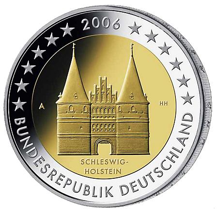 2€ . Holstentor 2006