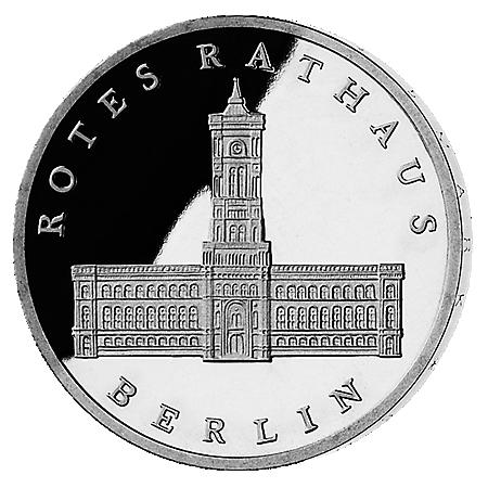 5M . Rotes Rathaus Berlin 1987