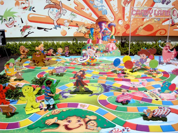 One of our references for a life-sized board game (Image found in the depths of the Internet).