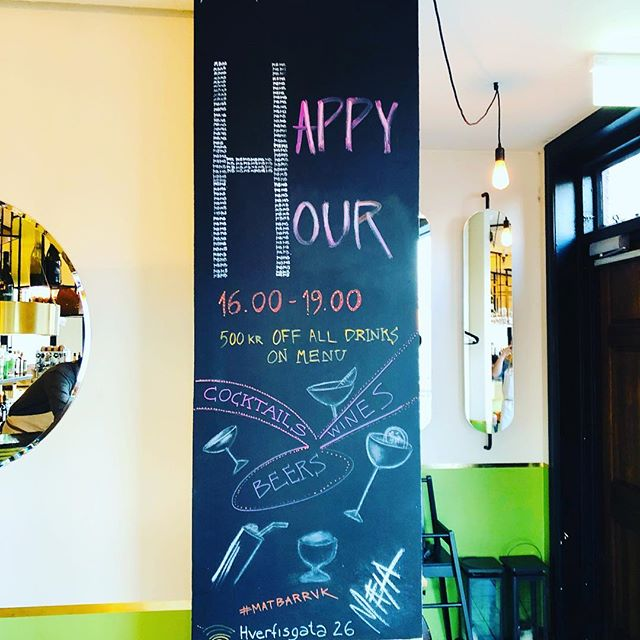 Happy hour 16-19  #nicyspicy #matbarrvk #happyhour