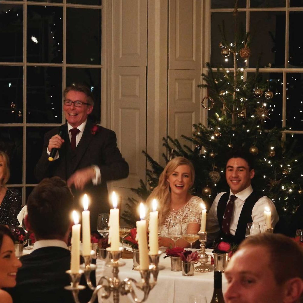 christmas wedding video