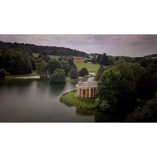 A scene from above. Aerial view of The West Wycombe Park Estate which hosted Ellie & Peter's wedding in June 2018 😀  Follow the link in bio to read the blog about this wedding and see the film! . . . . . #londonweddingvideography  #weddingfilmmaker  #weddingfilms  #weddingfilm  #weddingvideography  #weddingvideographer  #weddingvideo  #buckinghamshirewedding  #buckinghamshireweddingvideographer  #westwycombe  #westwycombepark  #aerialvideo  #aerialvideography  #aerialwedding  #drone #dronestagram  #droneshot  #djimavicpro  #huffpostweddings  #rockmywedding  #gettingmarried2019  #gettingmarriedsoon  #bridetobe  #bridetobe2019