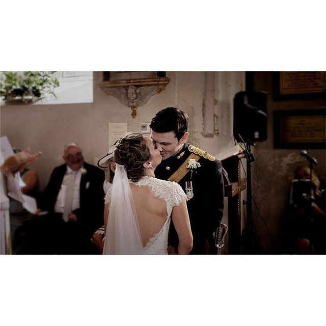 Spring has begun and the weekend is just around the corner. So many reasons to be happy!  And of course, who could not be filled with joy at the heartwarming moment that Emilie & Duncan sealed their marriage with a kiss last year 💕 . . . . . #militarywedding  #militaryweddings  #churchwedding  #firstkiss  #hertfordshirewedding  #hertfordshireweddings  #cambridgeshirewedding  #cambridgeshireweddings  #hertfordshireweddingvideographer  #cambridgeshireweddingvideographer  #londonweddingvideographer  #londonweddingvideography  #weddingvideography  #videowedding  #weddingvideographer  #weddingvideographers #weddingvideo  #destinationweddingvideographer  #englishcountrywedding  #countrywedding  #bridetobe2019  #bridetobe2020  #gettingmarried  #gettingmarried2019  #gettingmarried2020  #huffpostweddings  #rockmywedding  #junebugweddings