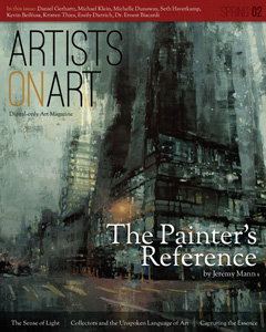 Artists on Art Magazine | Spring 2012 |  CLICK to VIEW ARTICLE PDF