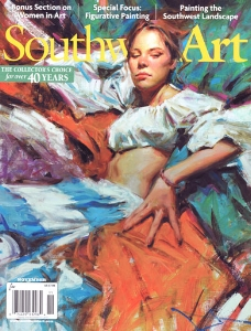 Southwest Art Magazine COVER | November 2014 | CLICK to VIEW ARTICLE PDF